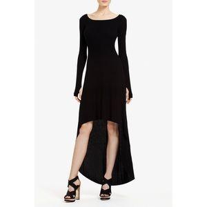 BCBG Hi Low Dress Small-Black